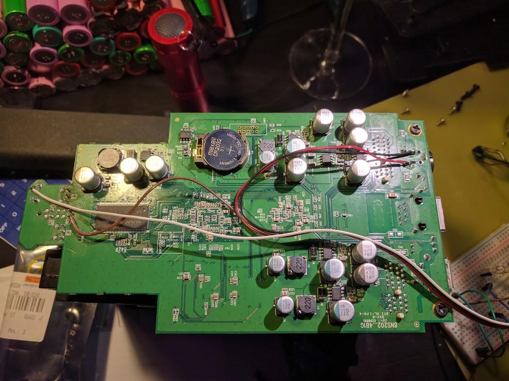 DNS-323 Autostart after Power Failure